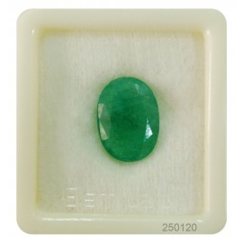 Natural Certified Emerald Fine 9+ 5.75ct
