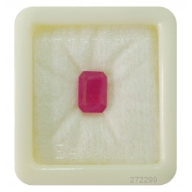 Certified Ruby Gemstone Fine 6+ 3.6ct