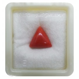 Certified Red Coral Premium 11+ 6.75ct